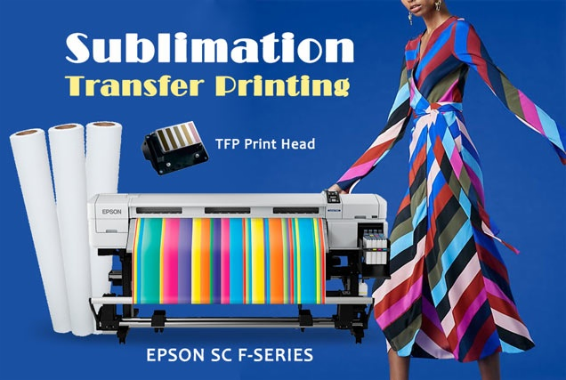 dye sublimation transfer printing