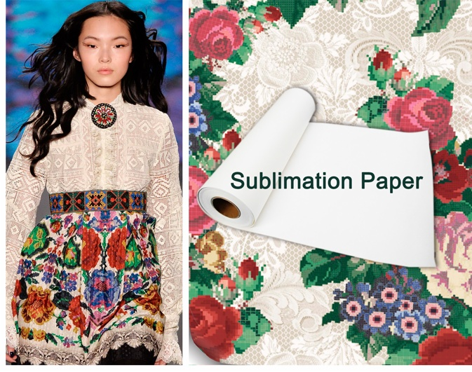 90gsm fast dry sublimation paper
