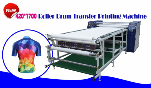 roller drum heat press machine