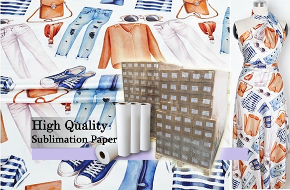 58gsm SUBLIMATION PAPER