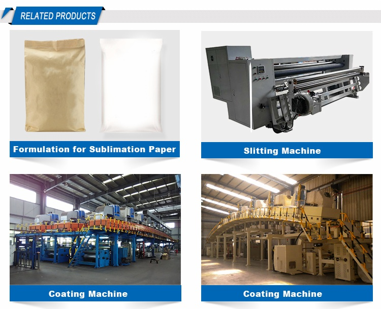Sublimation paper coating machine