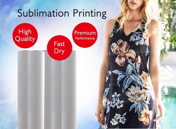 instant dry sublimation paper