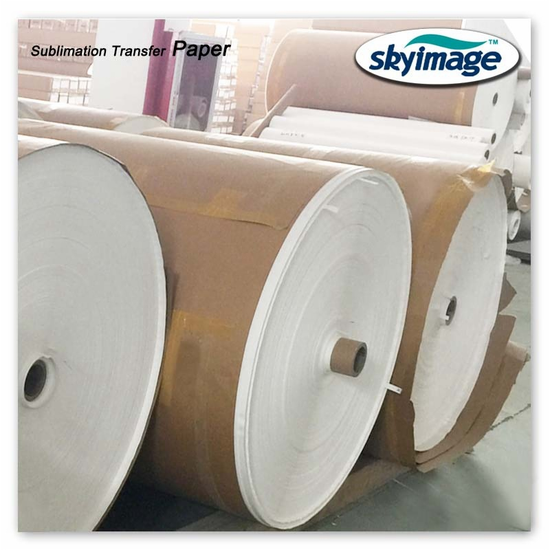 application of sublimation transfer paper