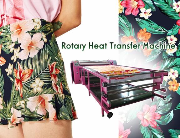 rotary drum heat press