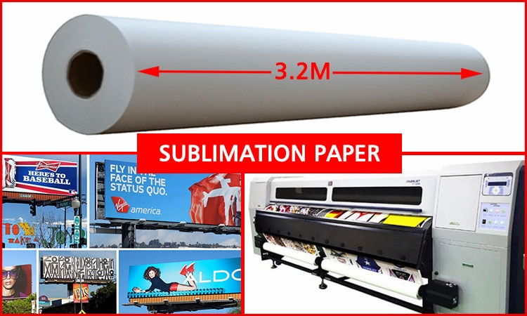 large format sublimation paper